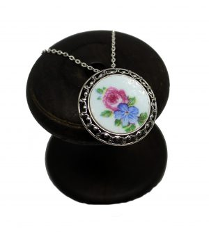 Irish handmade cavan ireland broken china jewellery